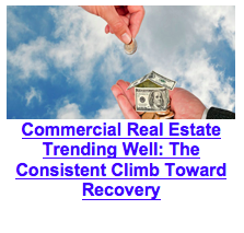 Commercial Real Estate Trending Well